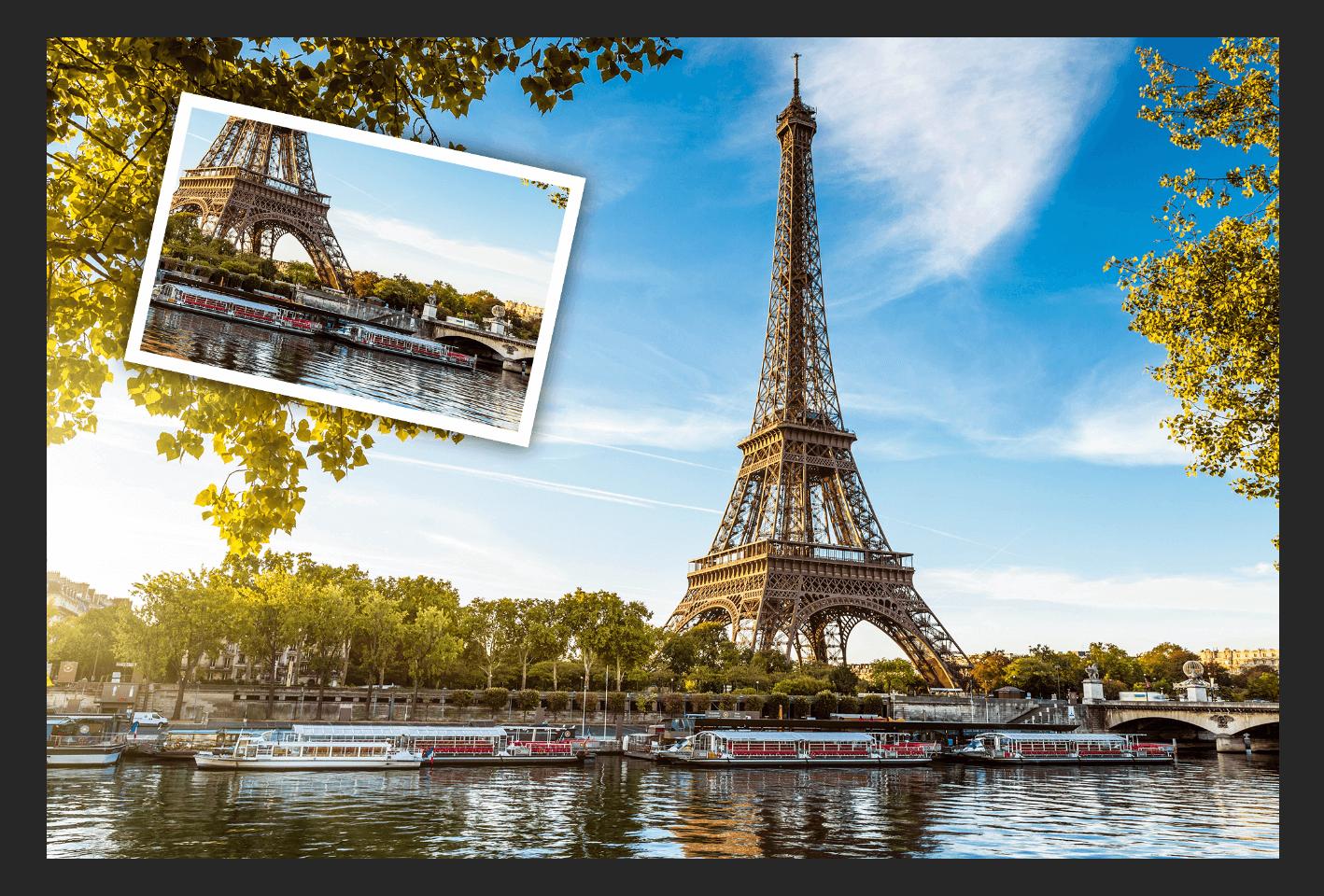 Как разделить фото на равные части в Фотошопе