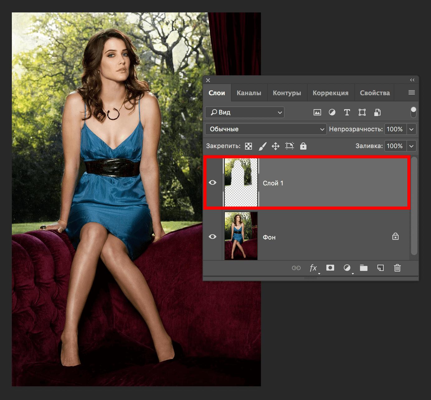 Как размыть задний фон на фото в Фотошопе CC или CS6