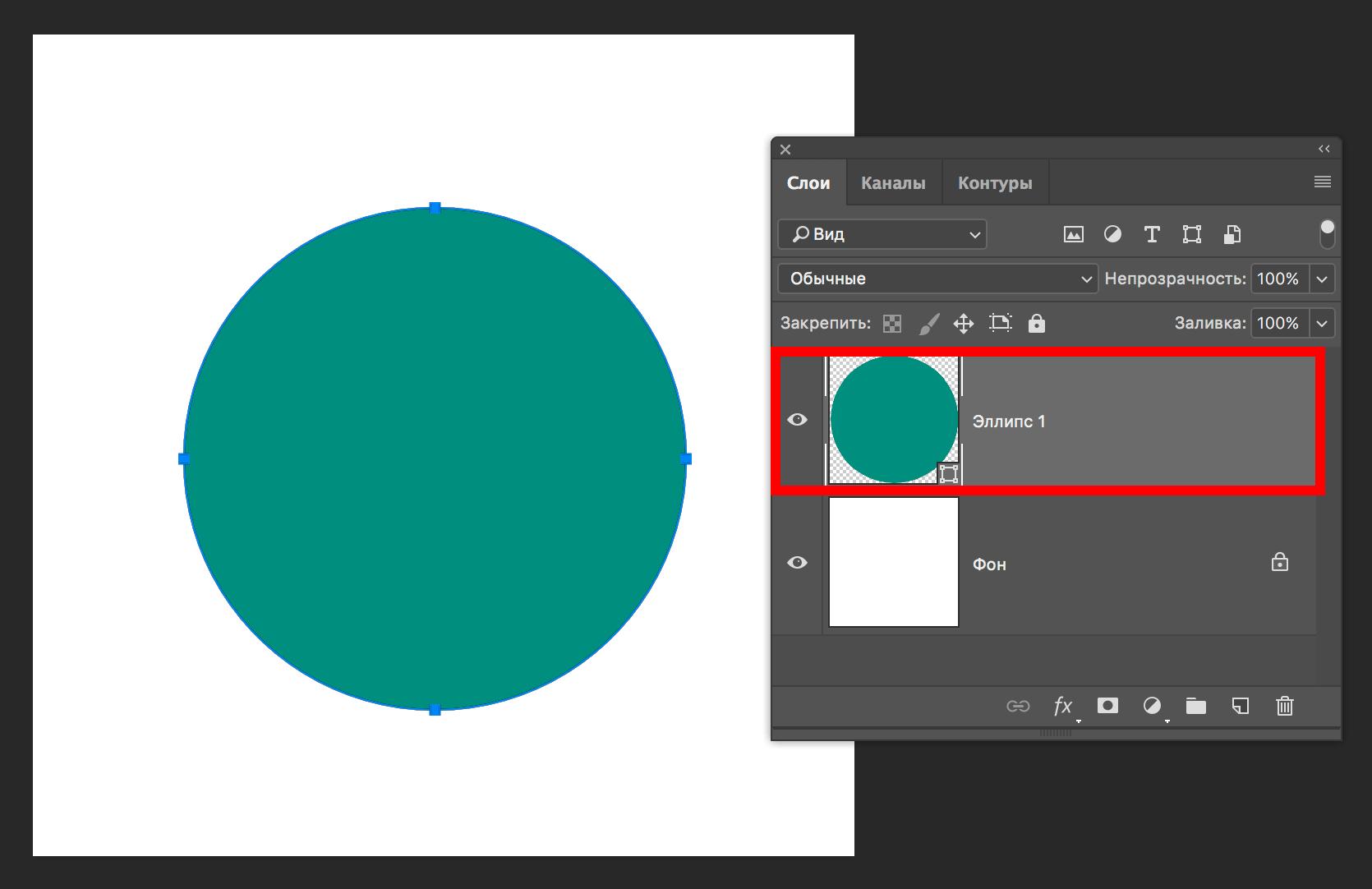 Текст по кругу в Фотошопе: как написать двумя способами