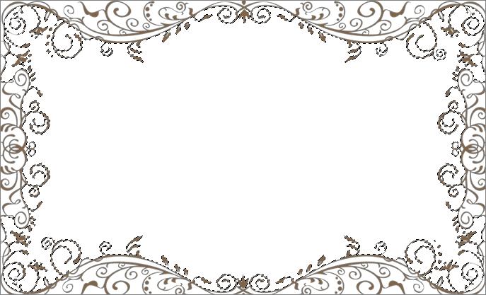 Выделенная рамка для совмещения с фотографией в Фотошопе