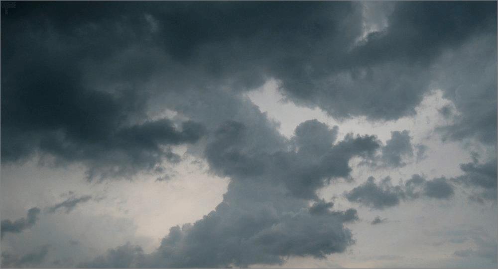 Изображение с тучами для наложения эффекта дождя в Фотошоп