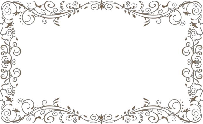 Рамка для совмещения с фотографией в Фотошопе