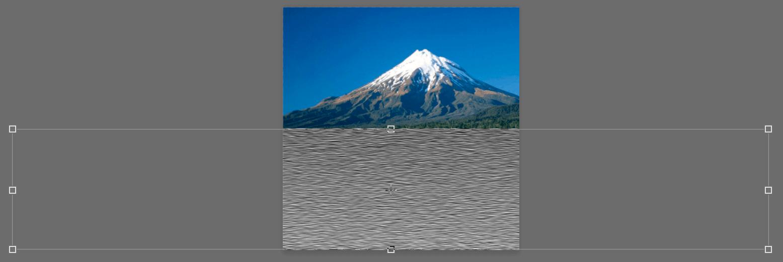 Изменение размеров слоя в Фотошопе
