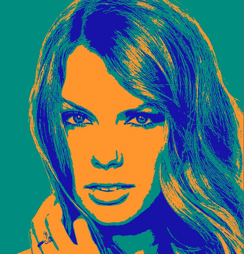Поп-арт портрет в Photoshop