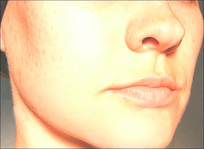 Выровненный цвет лица в Фотошопе