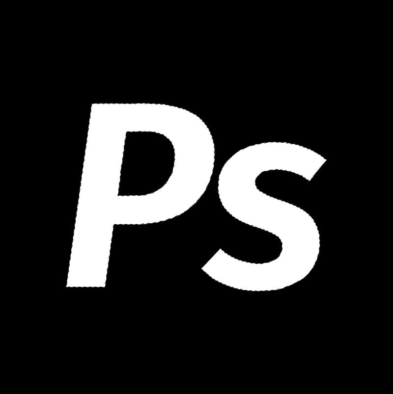 Выделенная область в альфа-канале в Photoshop
