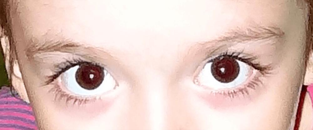Удаление красных глаз на фото в Фотошопе