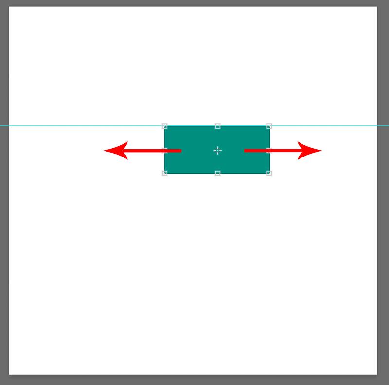 Перемещение объекта вдоль линии направляющей в Фотошопе