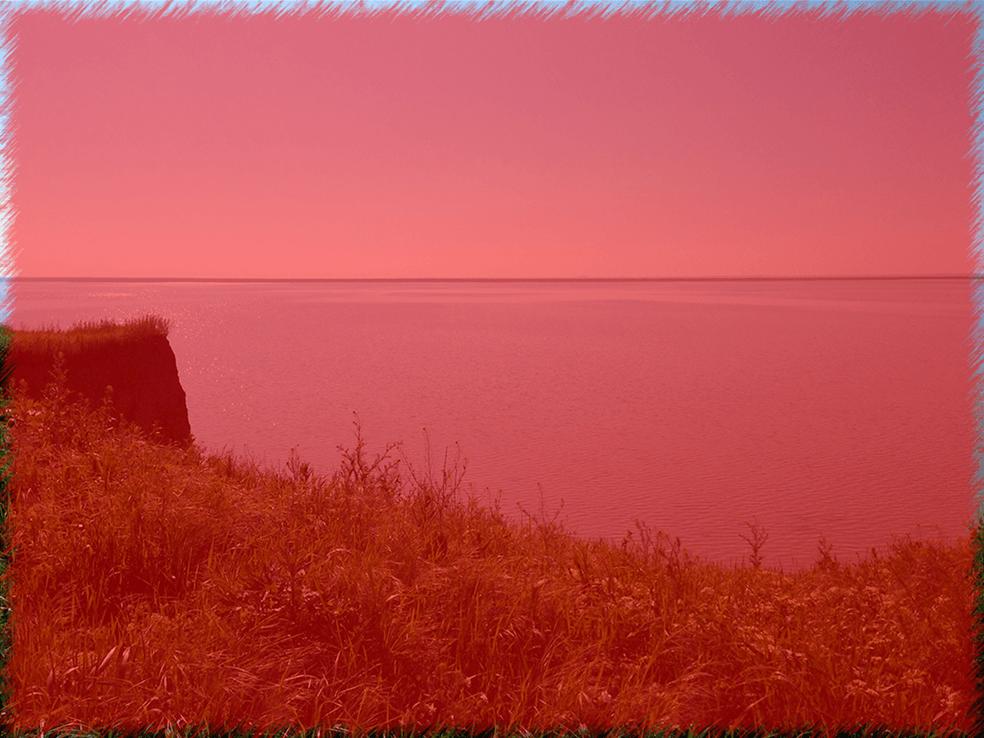 Результат добавления фильтра Аэрограф в Фотошопе