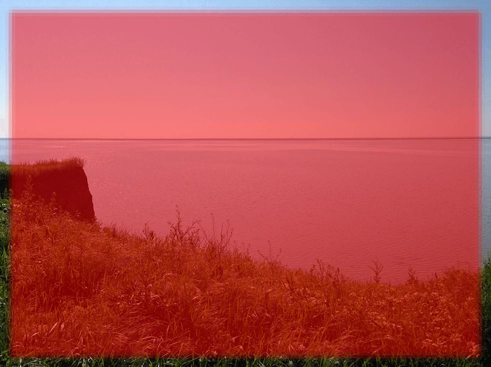 Результат применения фильтра Фрагмент в Фотошопе несколько раз