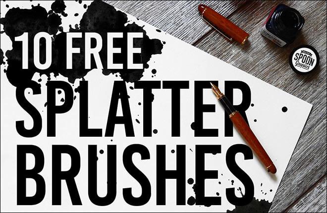 Кисти с брызгами и кляксами (SG Splatter Brushes)