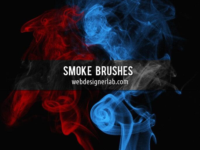Наборы кистей для Фотошопа: Дым