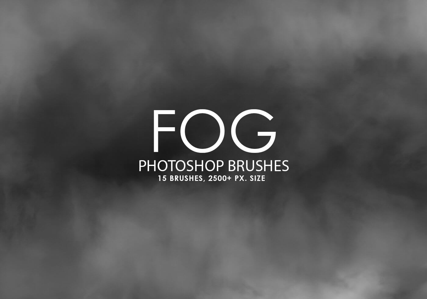 Кисти высокого качества для создания дыма в Фотошопе
