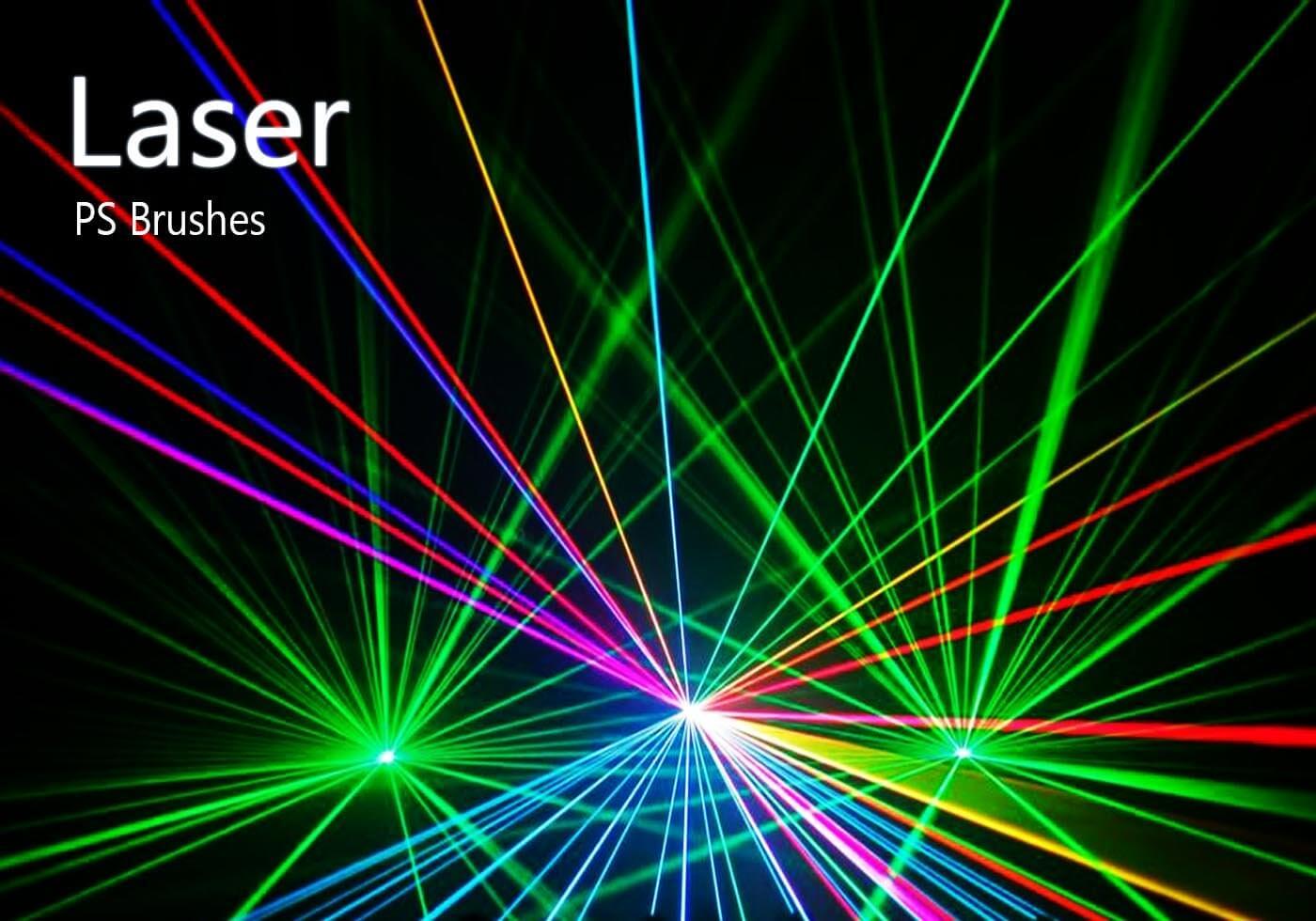 Кисти с лазерными лучами для Фотошопа