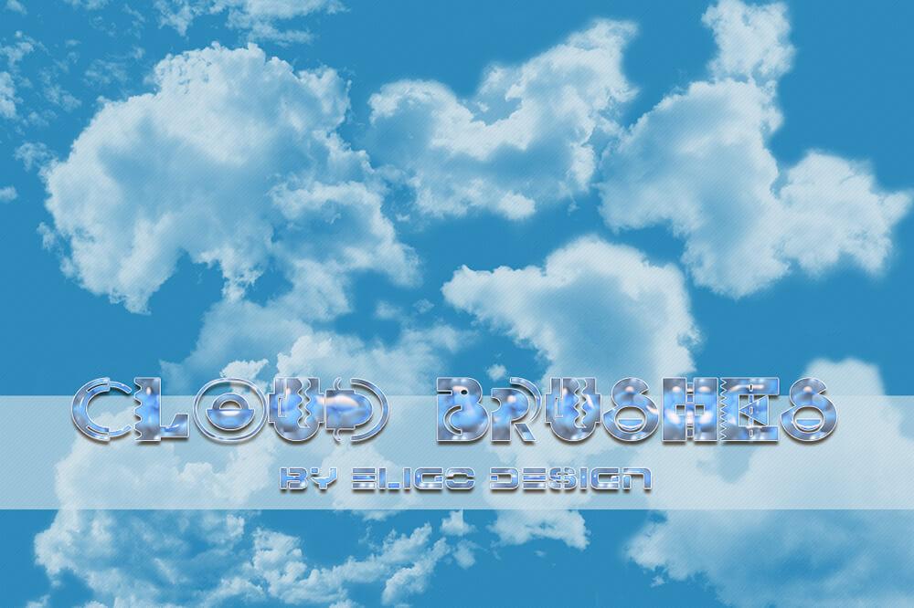 Кисти для рисования облаков в Фотошопе
