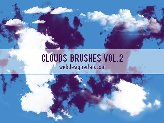 Кисти с облаками для Фотошопа