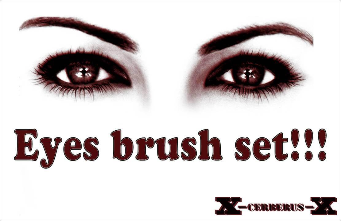 Кисти с глазами для Фотошопа