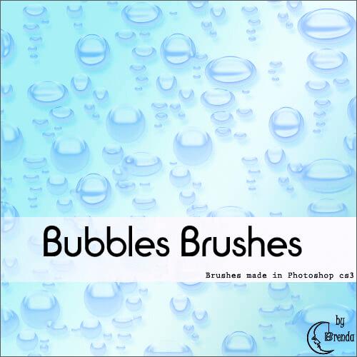 Кисти для создания подводных и мыльных пузырей в Фотошопе
