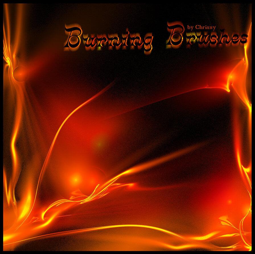 Огненные кисти для Фотошопа