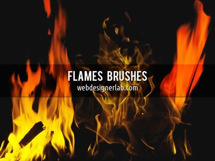 Кисти для создания огня в Фотошопе
