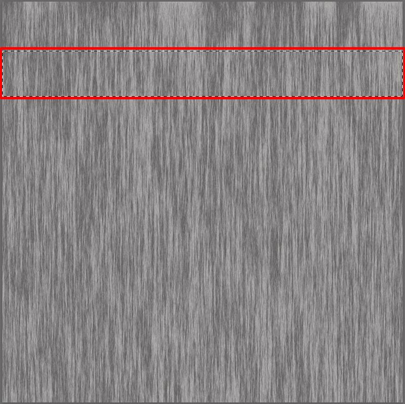 Выделение прямоугольной области на холсте в Photoshop
