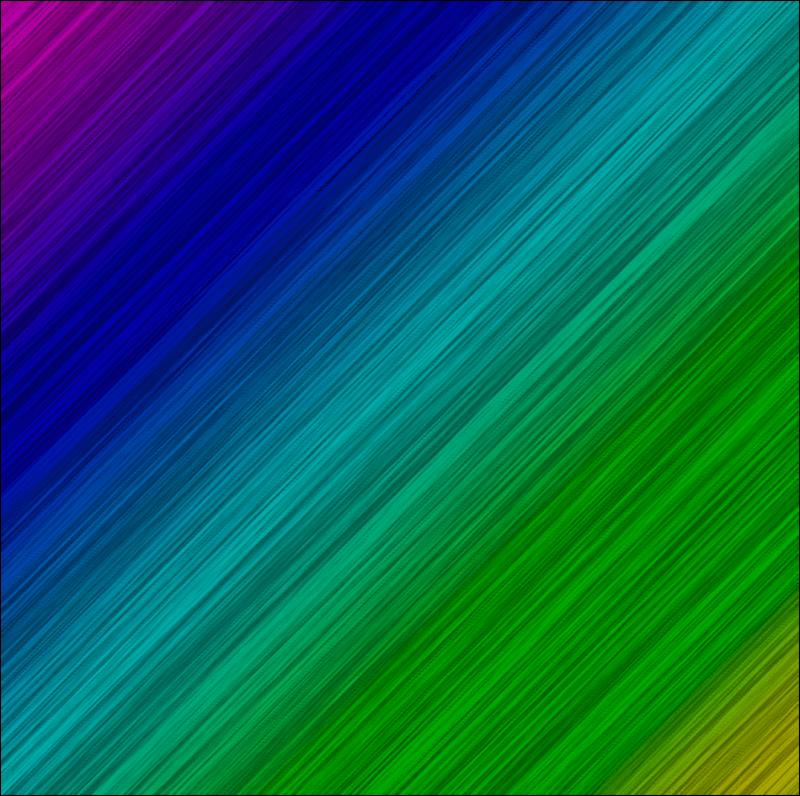 Результат наложения градиента на полоски в виде волокон в Photoshop