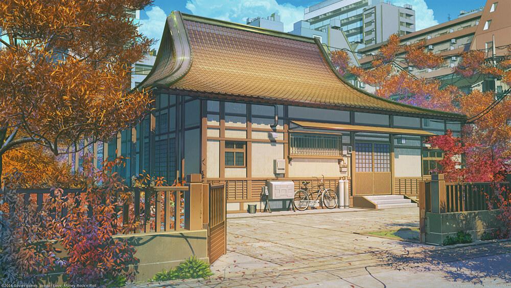 Высококачественные фоны в стиле аниме для Фотошопа