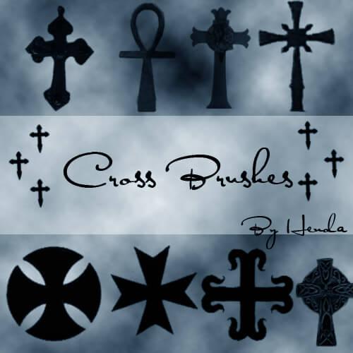 Кисти с крестами для Фотошопа