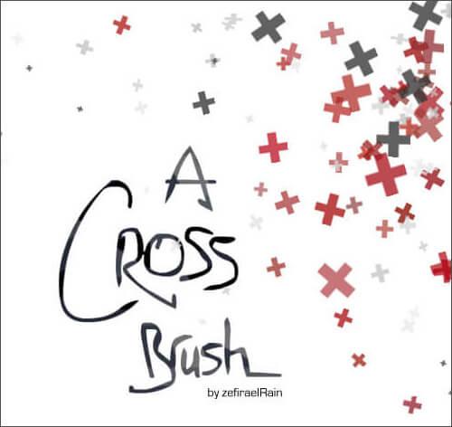 Кисти с крестиками для Фотошопа
