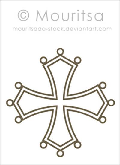 Кисти для рисования различных крестиков в Фотошопе