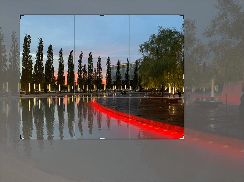 Работа с инструментом Рамки в Фотошопе