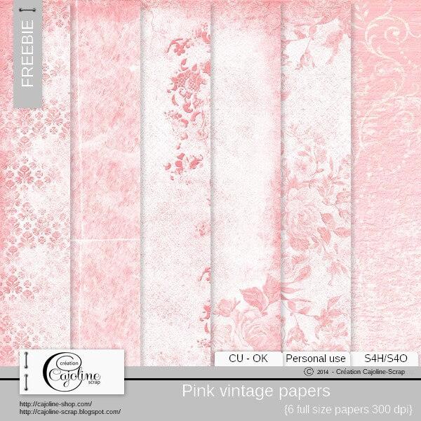 Нежные розовые фоны в винтажном стиле для Фотошопа