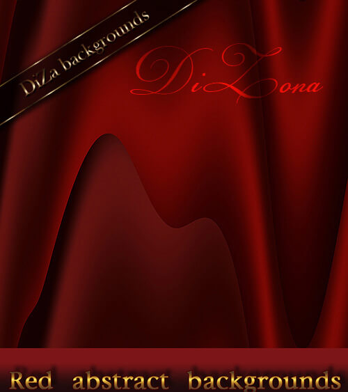 Фоны с абстрактными красными разводами для Фотошопа