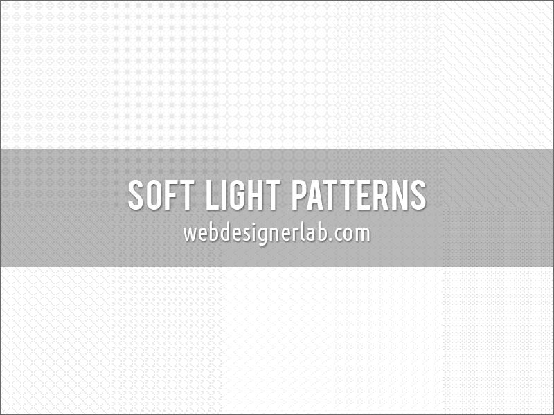 Паттерны для создания нежных фонов в светлых тонах в Фотошопе