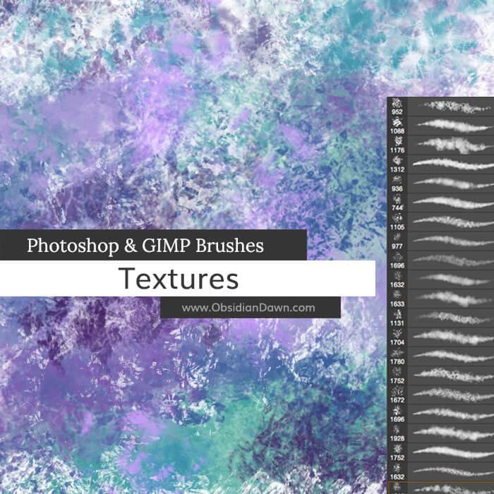 Кисти для рисования текстурных эффектов в Фотошопе
