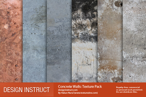 Фоны с бетонными стенами для Фотошопа