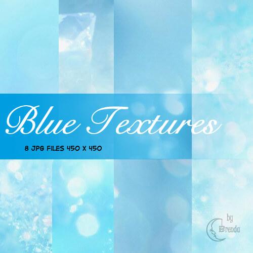 Нежные фоны-текстуры в голубых тонах для Фотошопа