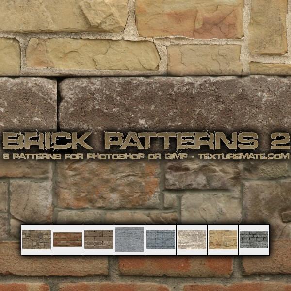 Высококачественные фоны с кирпичными стенами для Фотошопа