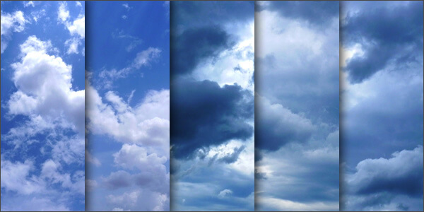Фоны с облачным небом для Фотошопа