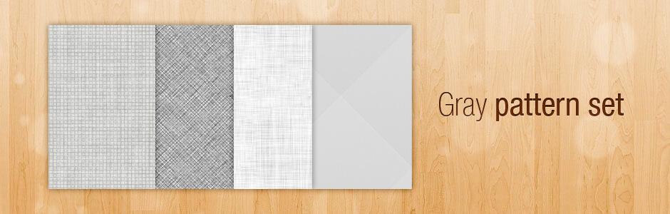 Паттерны для создания серых фонов в Фотошопе