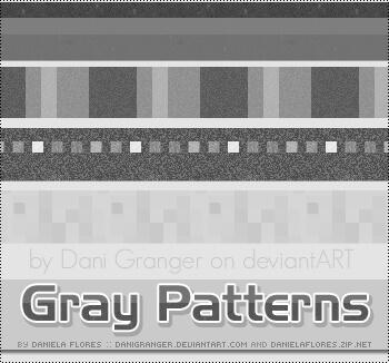 Паттерны с абстрактными серыми узорами для Фотошопа