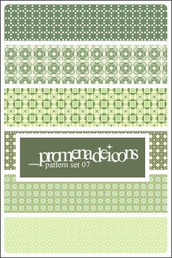 Паттерны для создания фонов в зеленых тонах для Фотошопа