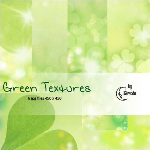 Фоны-текстуры в зеленых тонах для Фотошопа
