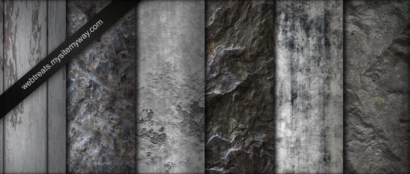 Гранжевые фоны серого оттенка для Фотошопа