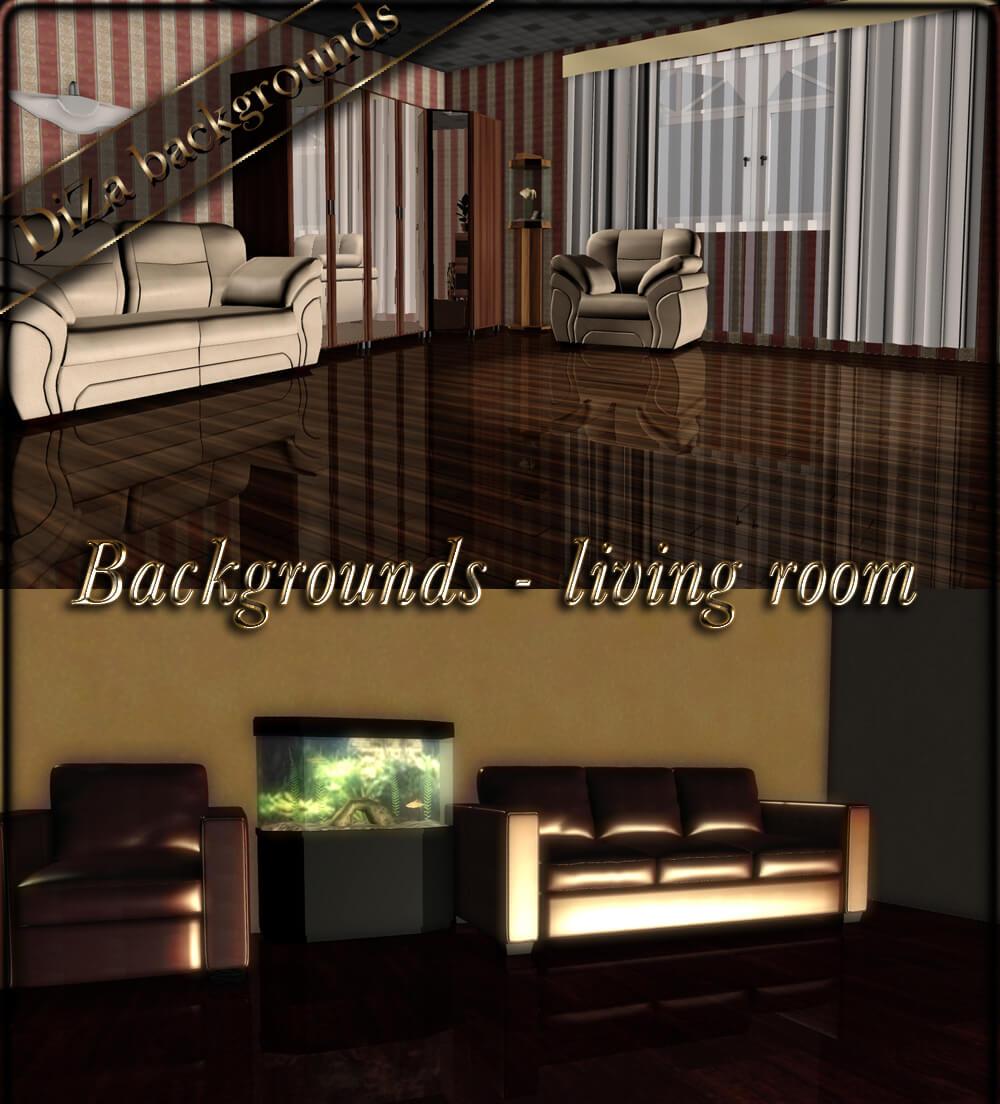Фоны с жилыми комнатами для Фотошопа