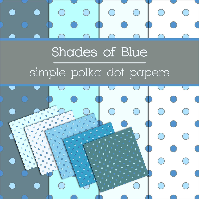Фоны в голубых тонах с кружочками для Фотошопа
