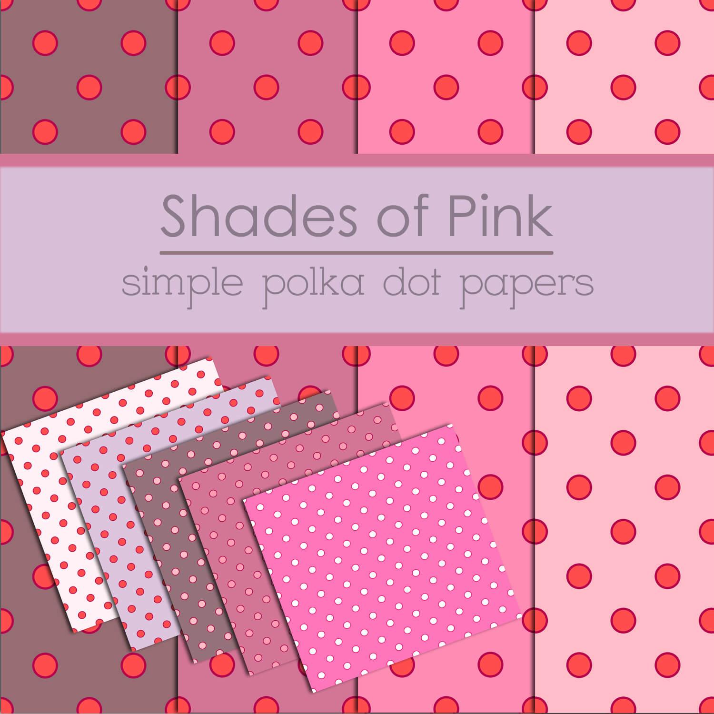 Фоны в розовых тонах с кружочками для Фотошопа