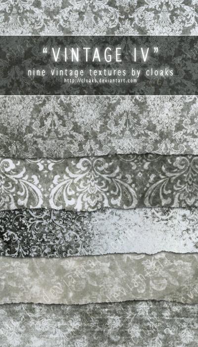 Винтажные фоны в серых тонах для Фотошопа