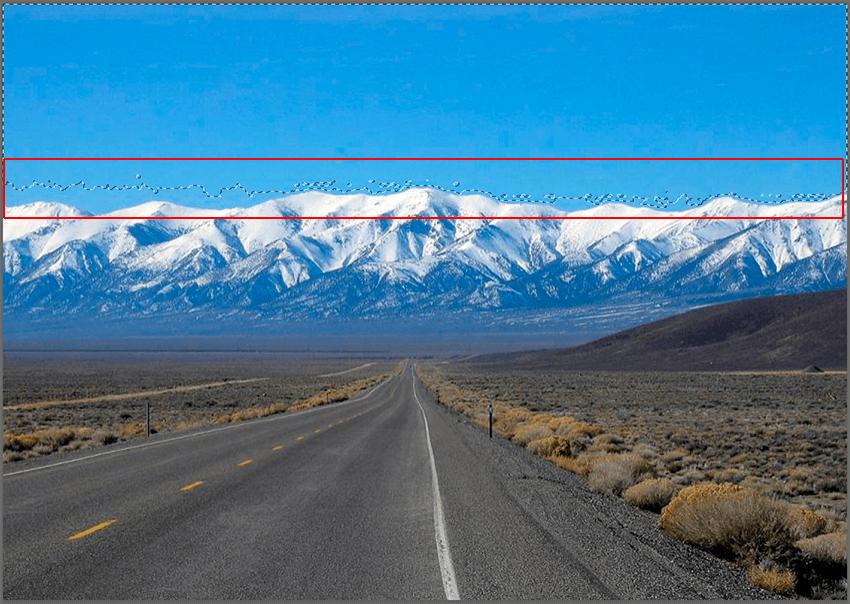 Выделение области на фото с помощью Волшебной палочки в Photoshop