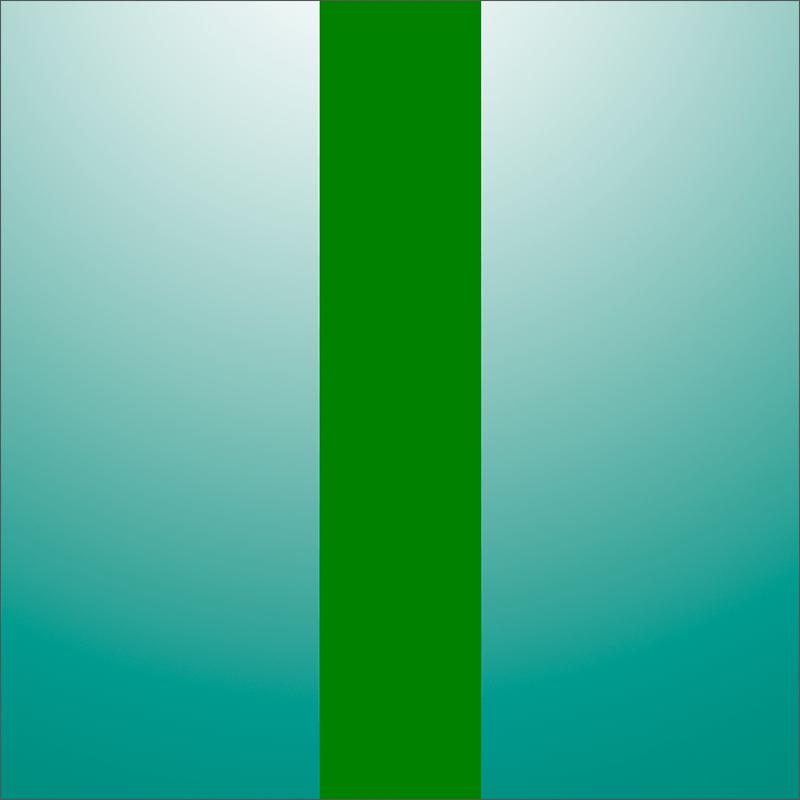 Градиентный фон с вертикальной зеленой полоской